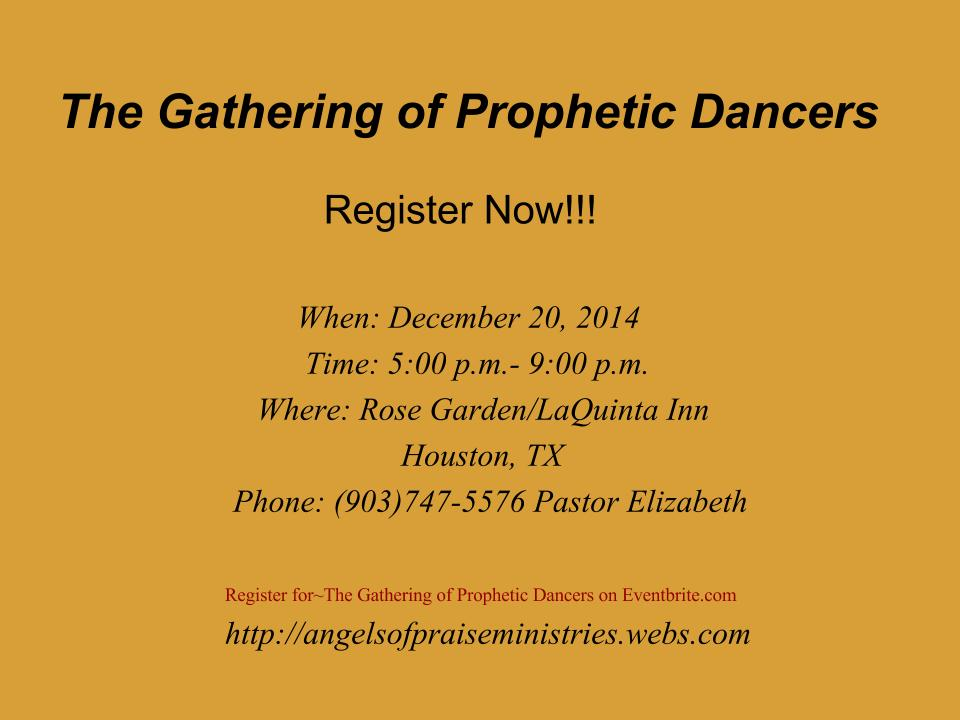 The Gathering of Prophetic Dancers 2